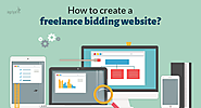 How to create a freelance bidding website?