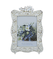 Indian Gifts Portal Photo Frame with Pair of Swans Top