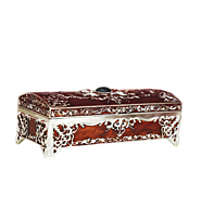 India Gifts Portal Jewelry Box Red Colour