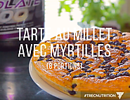 Trec Nutrition France: Recipe for the bilberry pie