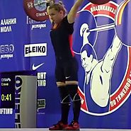 Elena Sukhar won Russia Championship in Weightlifting