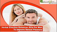 Herbal Erection Enhancer Pills For Men To Improve Sexual Pleasure