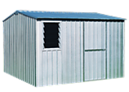 Quality steel sheds with strong pre-assembled panels