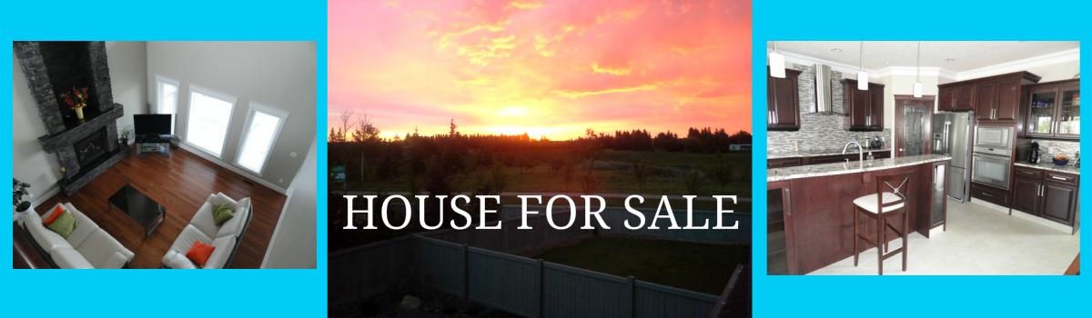 Headline for Edmonton House For Sale