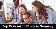 Top Courses to Study in Germany