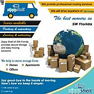 Portable Moving and Storage Services in Florida