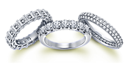 Buy Diamond Wedding and Anniversary Rings for Men and Women at Best Price