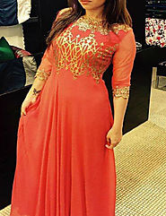 This Eid Look Ravishing In Designer Anarkali Suits