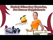Herbal Slimming Pills Capsules, Best Fat Burner Supplements