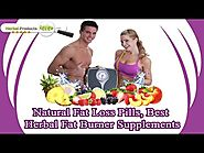 Natural Fat Loss Pills, Best Herbal Fat Burner Supplements