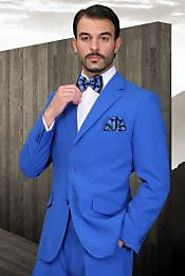 Get An Inexpensive And Wonderful Royal Blue Suit From SuitUSA