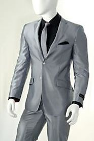 Silver Suit - The Definition Of Eye-catching And Striking