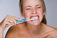 Brushing Your Teeth Too Hard