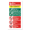 Class F Wet Chemical Extinguisher