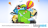 Register at Blogmint to Promote Your Brand