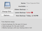 Time Machine: Troubleshooting backup issues