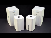 Apple Airport Extreme and Time Capsule (2013): Unboxing & Setup Demo