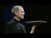 Steve Jobs introduces original MacBook Air & Time Capsule - Macworld SF (2008)