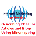 Generating ideas for articles and blogs using mindmapping