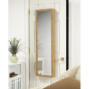 Hanging Jewelry Organizer with Mirror Over The Door Mirror Cabinet