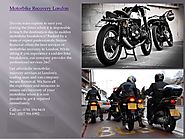 MOTORBIKE & RECOVERY IN LONDON UK | Secure Removals