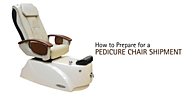 How to Prepare for a Pedicure Chair Shipment