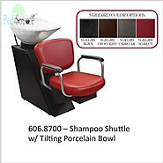 Aero Shampoo Shuttle with Porcelain Tilting Bowl