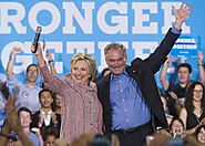 Hillary Clinton picks Tim Kaine as running mate - Davina Diaries