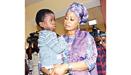 Ogun State First Lady adopts 9-year-old boy chained by father - Davina Diaries