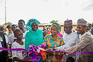 PHOTOS: Buhari's daughter commissions orphanage in Kaduna - Davina Diaries