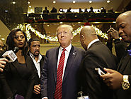 Trump Shows Support for African Americans, I'm with you he says - Davina Diaries