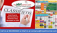 Website at http://blog.myadvtcorner.com/hindustan-times-property-ads/book-hindustan-times-delhi-classified-advertisem...