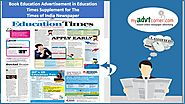Education Ad in Newspaper is best to promote your educational services | Myadvtcorner