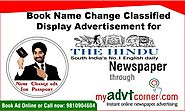 Website at http://blog.myadvtcorner.com/advertising/within-minutes-you-can-make-online-bookings-for-the-hindu-name-ch...