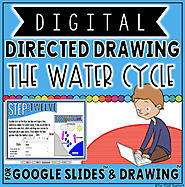 DIGITAL DIRECTED DRAWING IN GOOGLE DRIVE™: THE WATER CYCLE | TpT