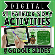 DIGITAL ST. PATRICK'S DAY ACTIVITIES IN GOOGLE SLIDES™☘ by The Techie Teacher