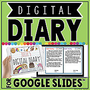 DIGITAL DIARY IN GOOGLE SLIDES™ by The Techie Teacher | TpT