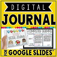 DIGITAL JOURNAL IN GOOGLE SLIDES™ by The Techie Teacher | TpT
