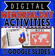 DIGITAL MEMORIAL DAY ACTIVITIES IN GOOGLE SLIDES™ by The Techie Teacher