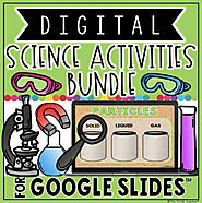 DIGITAL SCIENCE ACTIVITIES BUNDLE FOR GOOGLE DRIVE™ by The Techie Teacher