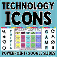 Technology Icons Trivia Game in PowerPoint & Google Slides™ | TpT