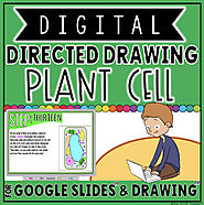 DIGITAL DIRECTED DRAWING IN GOOGLE DRIVE™: PLANT CELL by The Techie Teacher