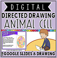 DIGITAL DIRECTED DRAWING IN GOOGLE DRIVE™: ANIMAL CELL by The Techie Teacher