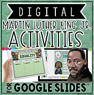 DIGITAL MARTIN LUTHER KING JR ACTIVITIES IN GOOGLE SLIDES™ | TpT