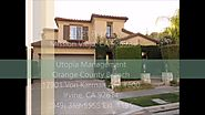 Mission Viejo Property Management - 23121 Poplar, Mission Viejo CA 92692