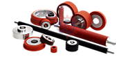 Silicone Roller, Rubber Rollers, Industrial Rubber Roller