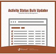 Dynamics CRM Activity Status Bulk Updater: Update Activities Easily