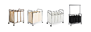 Best Heavy Duty Laundry Sorter Cart - 3 Bag or 4 Bag Hampers (with images) · HeavyDuty