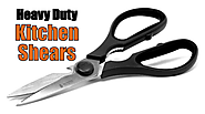 Quality Heavy Duty Kitchen Shears -Stainless Steel
