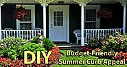 summer curb appeal